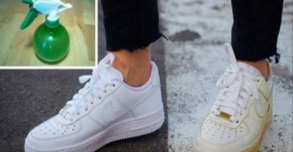 Chaussures Blanches Toile En Blanches Blanchir Comment chaussures O8nwk0P